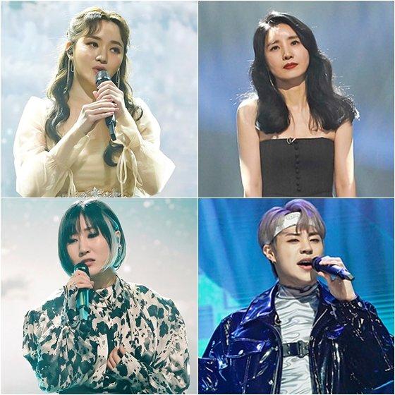 이소정(왼쪽위부터 시계방향), 유미, 태호, 요아리 /사진제공=JTBC