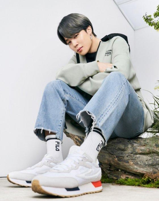 방탄소년단 지민(BTS JIMIN /사진=휠라 코리아(FILA KOREA)