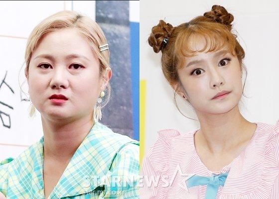 '헤이나래'의 박나래, 헤이지니(강혜진)/사진=스타뉴스