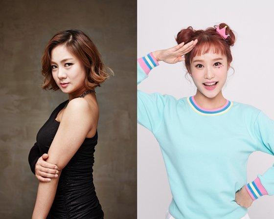 웹 예능 '헤이나래'의 박나래, 헤이지니(사진 오른쪽)/사진제공=CJ ENM