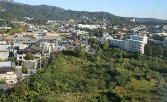 송현동 부지 모습