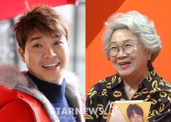 박수홍과 어머니 지인숙 씨 /사진=스타뉴스, SBS '미운우리새끼' 화면 캡쳐