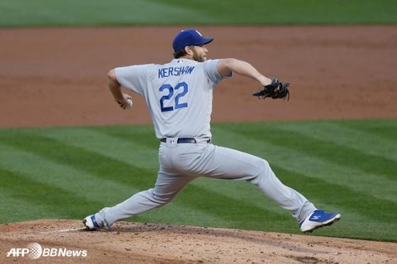 LA 다저스 클레이튼 커쇼. /AFPBBNews=뉴스1