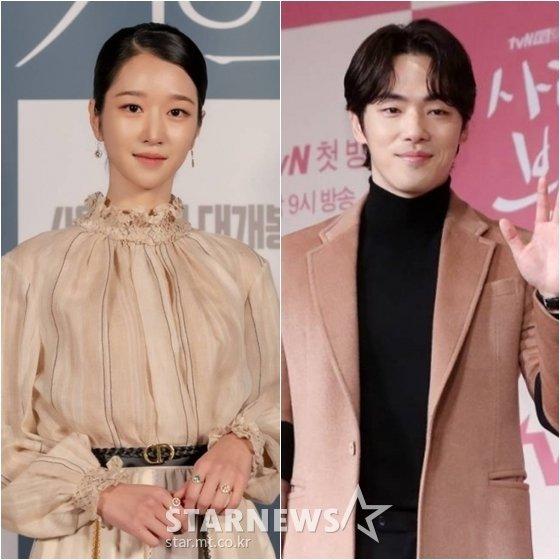 배우 서예지(왼쪽)와 김정현 /사진=스타뉴스, 아이필름 코퍼레이션, CJ CGV