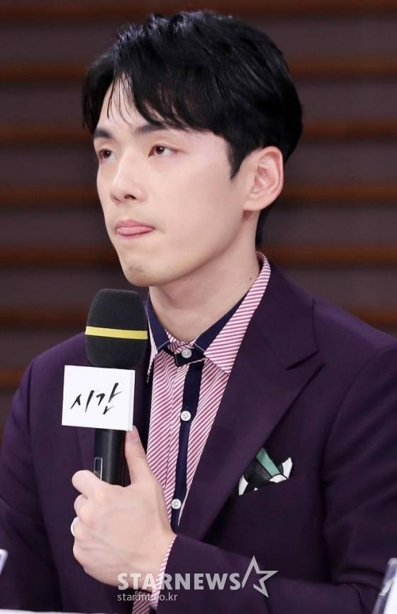 김정현, 역대급 '역할 빙의'..숨막혔던 '시간' 제작발표회[한해선의 X-선]