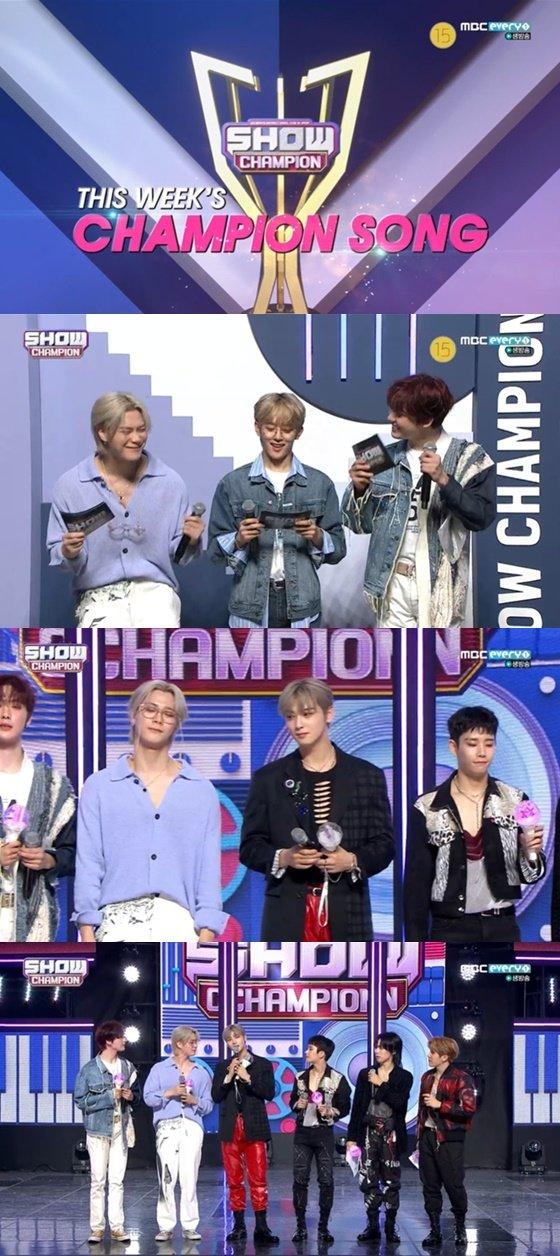 아스트로 /사진=MBC 에브리원 '쇼! 챔피언' 방송화면 캡처