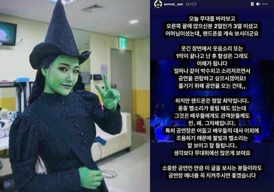 /사진=손승연 인스타그램