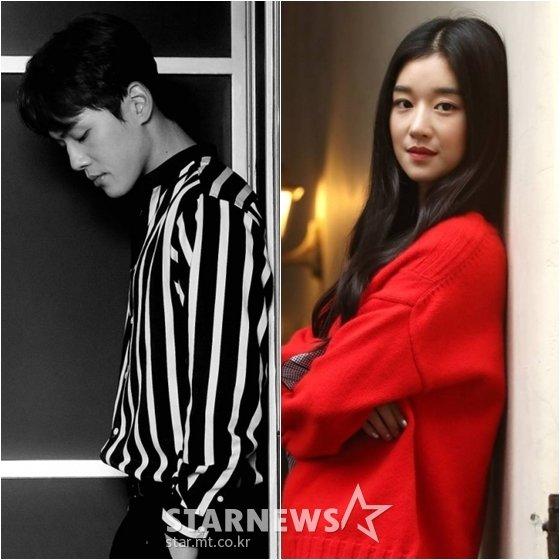 김정현(왼쪽)과 서예지 /사진=스타뉴스