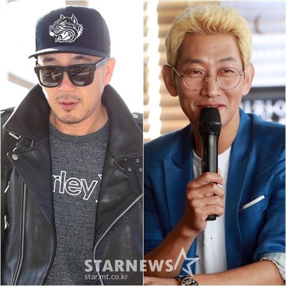 이하늘(왼쪽)과 김창열 /사진=스타뉴스