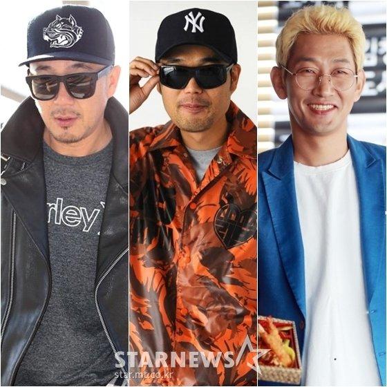 이하늘(왼쪽부터), 故이현배, 김창열 /사진=스타뉴스