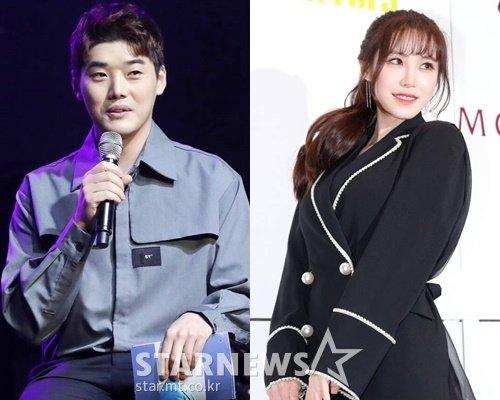방송인 권혁수, 배우 전효성 /사진=스타뉴스