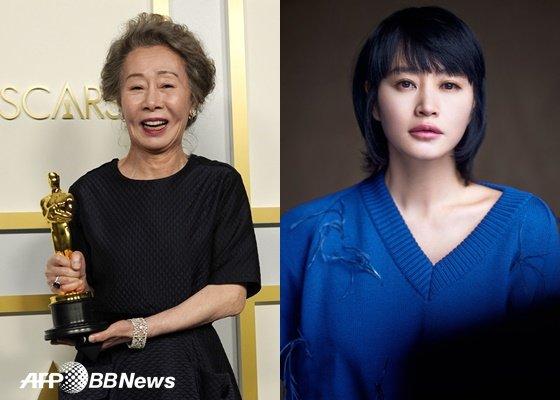 윤여정, 김혜수 /AFPBBNews=뉴스1, 호두앤유엔터테인먼트