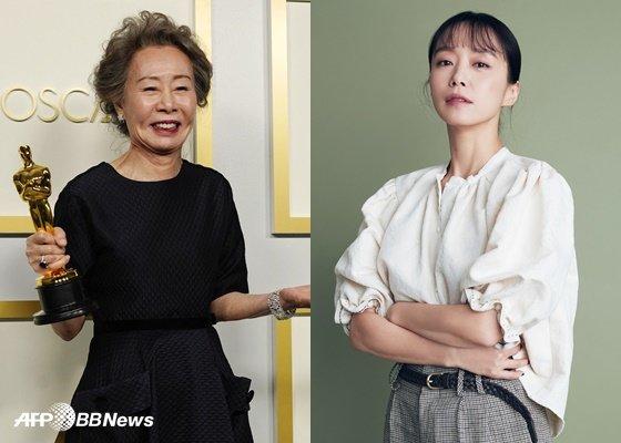 윤여정, 전도연 /AFPBBNews=뉴스1, 메가박스중앙(주)플러스엠