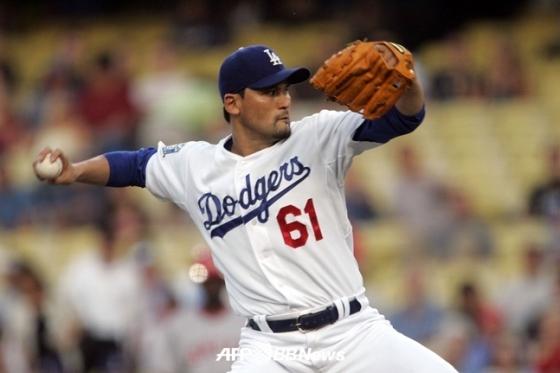 LA 다저스 시절의 박찬호./AFPBBNews=뉴스1