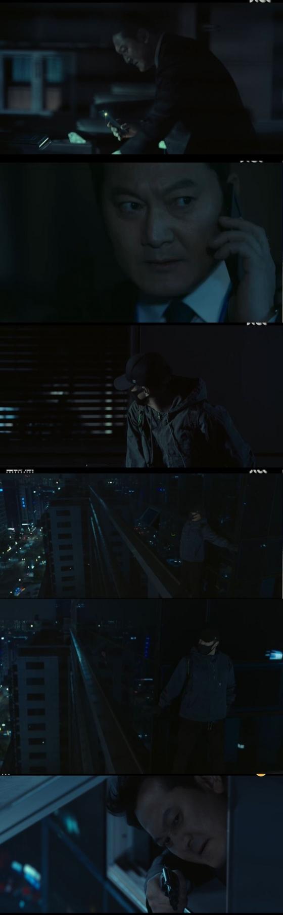 '언더커버' 정만식, 건물 끝 붙어선 지진희 저격[★밤TView]