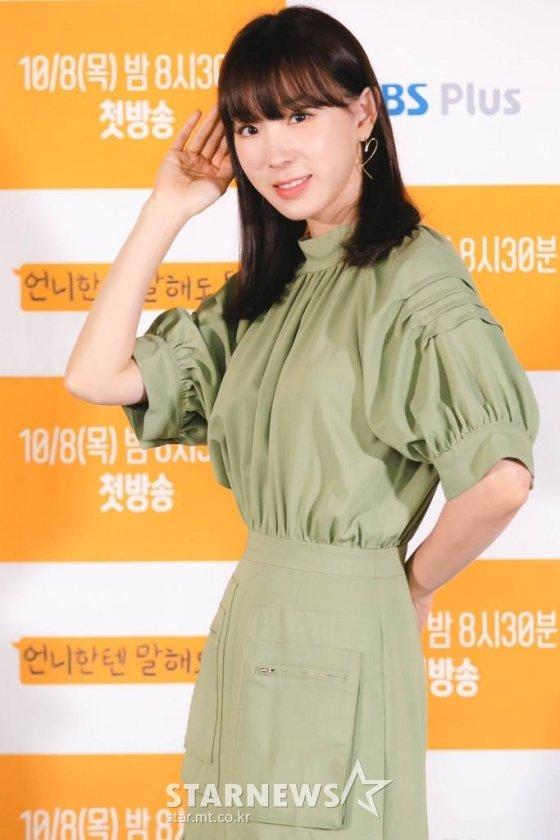 가수 이지혜가 MBC 라디오 FM4U '오후의 발견 이지혜입니다'에 복귀했다./사진=임성균 기자 tjdrbs23@