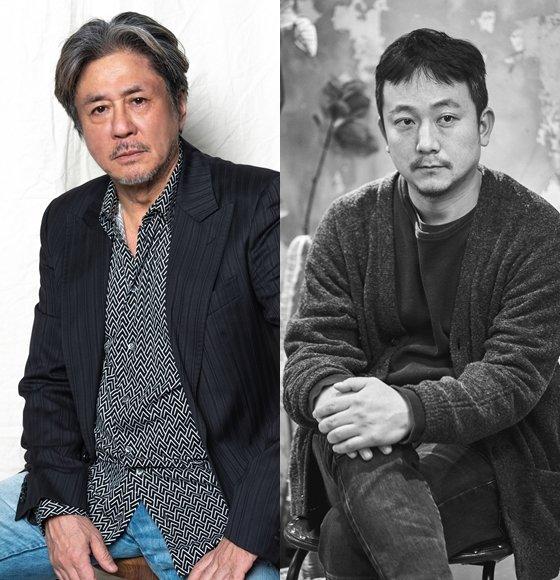 배우 최민식이 '검은 사제들' '사바하' 장재현 감독(왼족)의 신작 '파묘'로 호흡을 맞춘다.