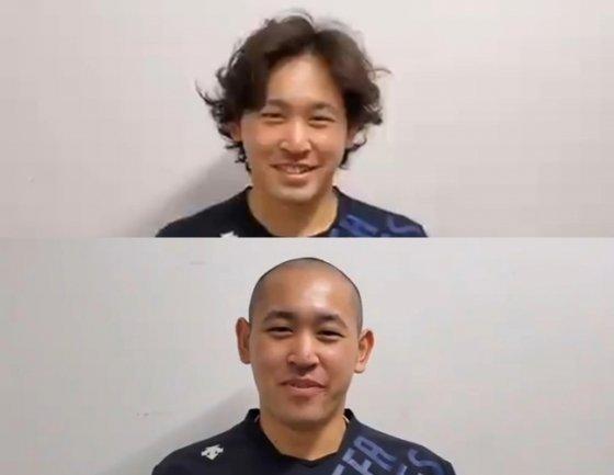 오릭스 투수 미야기 히로야가 시즌 첫 패 후 삭발 수준으로 머리카락을 잘랐다./사진=오릭스 트위터
