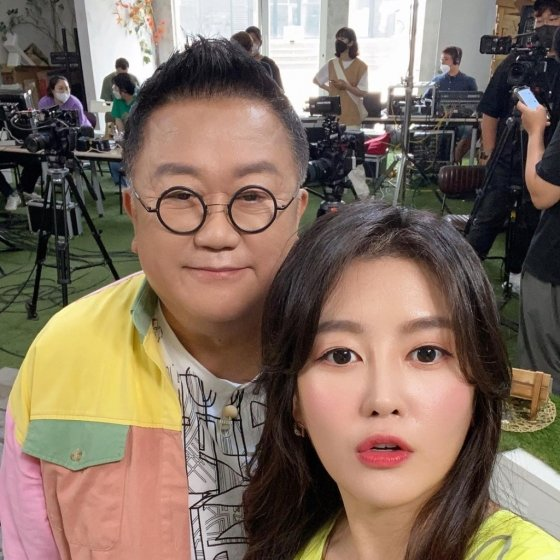 개그맨 이용식과 딸 이수민/사진=이수민 인스타그램