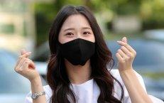 윤서령 '마스크 써도 예쁜 미모'