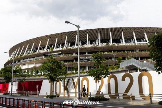 2020 도쿄올림픽 개막식이 열리게 될 도쿄올림픽스타디움(도쿄신국립경기장). /AFPBBNews=뉴스1