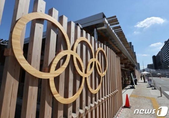 2020 도쿄 올림픽 선수촌 보안검색대 모습. /사진=뉴스1
