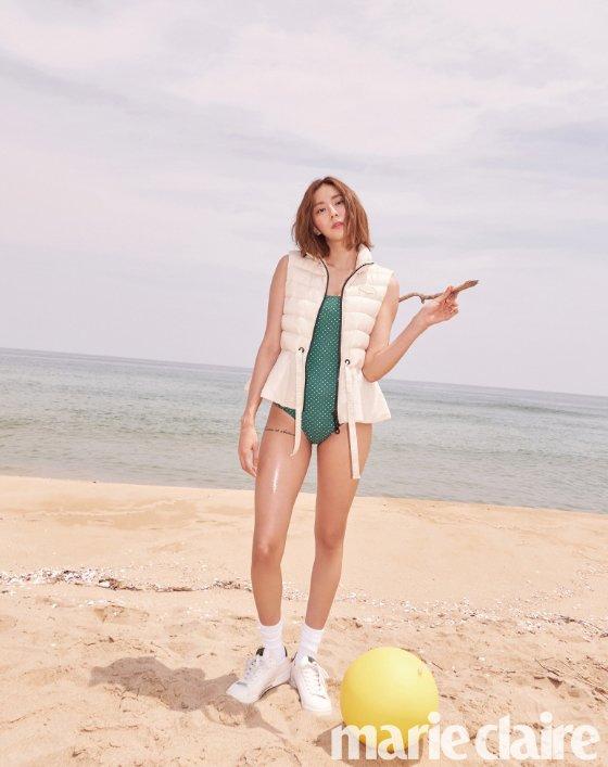 배우 유이/사진제공=마리끌레르