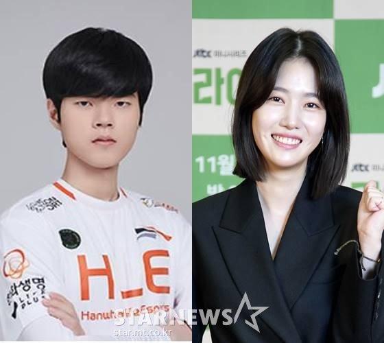 프로게이머 데프트, 배우 양혜지 /사진=JTBC, 한화생명e스포츠