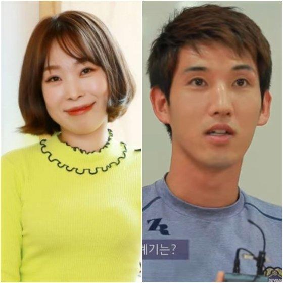 오나미(왼쪽)와 박민 /사진=스타뉴스, FC 안양 유튜브 영상 캡처