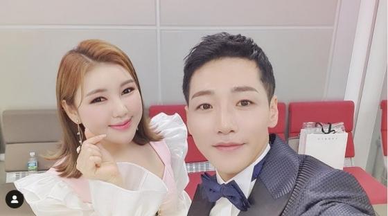 송가인, 박군 /사진=송가인 인스타그램