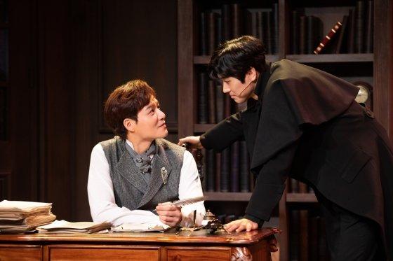 뮤지컬 '마지막 사건'의 공연장면