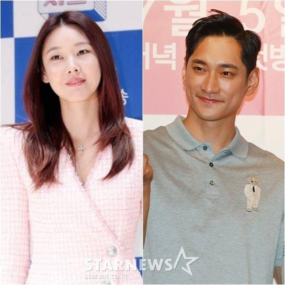 한혜진(왼쪽)과 김요한 /사진=스타뉴스