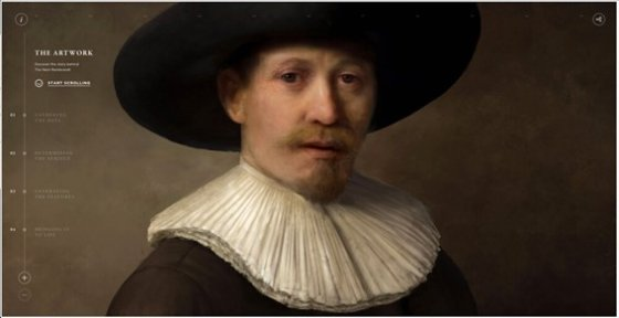 '넥스트 렘브란트(The Next Rembrandt)', 2016.  사진제공= ING Group via Flickr/Creative Commons.