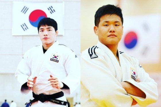 안창림(왼쪽)과 조구함 /사진=김창열 인스타그램