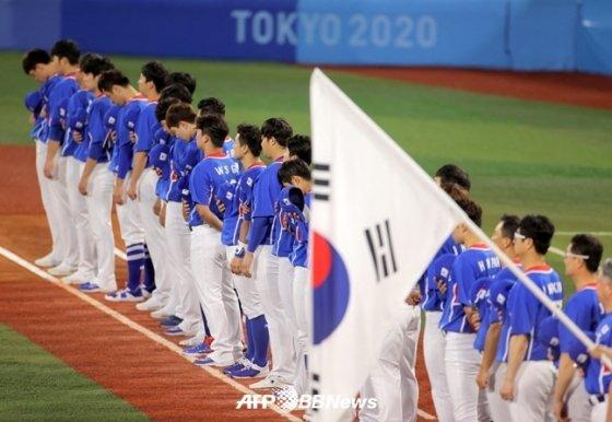 한국 야구 대표팀. /AFPBBNews=뉴스1