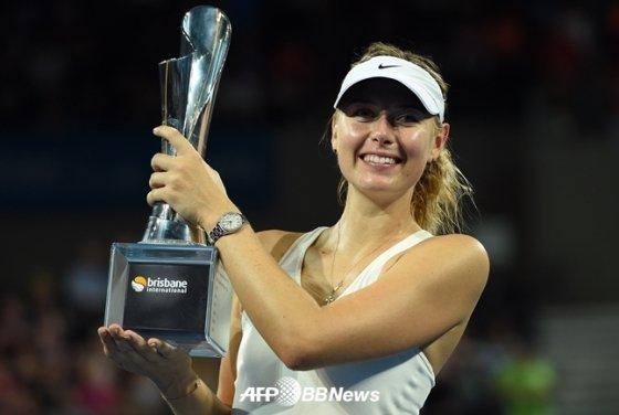 광고 수입 1위를 차지한 테니스 스타 마리아 샤라포바. /AFPBBNews=뉴스1
