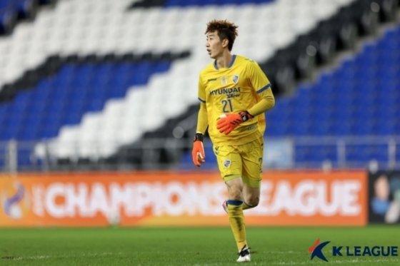 울산 조현우 골키퍼./사진=한국프로축구연맹