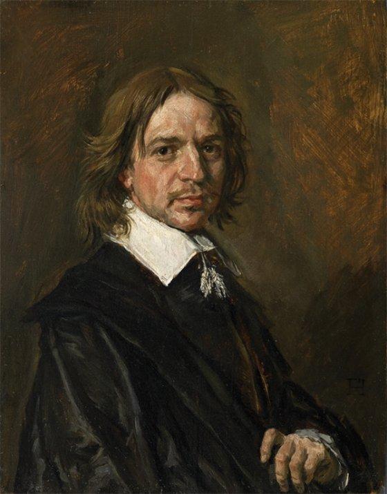 프란스 할스(Frans Hals) 위작으로 간주된 '남성의 초상(Portrait of a Man)'.  사진제공= Sotherby's.