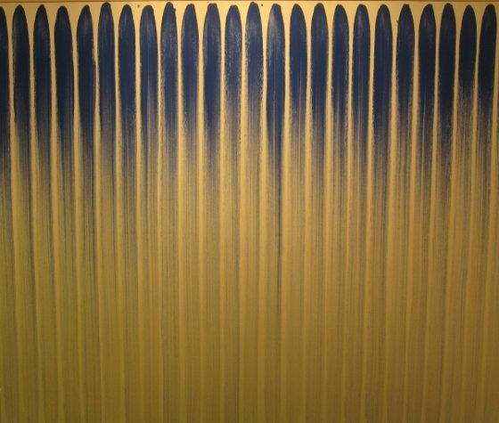 이우환, '선으로부터(From Line)', c. 1970s.  사진제공= Michael Galpert via Flickr/Creative Commons.