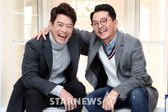 KBS 2TV 새 코미디 서바이벌' 로드 투 개콘'(가제)에 참가하는 김대희(사진 왼쪽), 김준호./사진=임성균 기자 tjdrbs23@