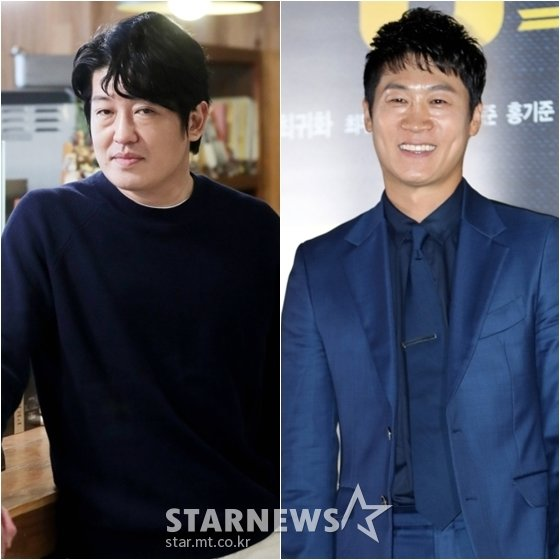 허성태(왼쪽)와 진선규 /사진=스타뉴스