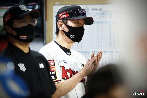 kt wiz 이강철 감독. /사진=kt wiz