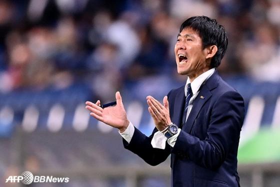 모리야스 하지메 일본축구대표팀 감독. /AFPBBNews=뉴스1