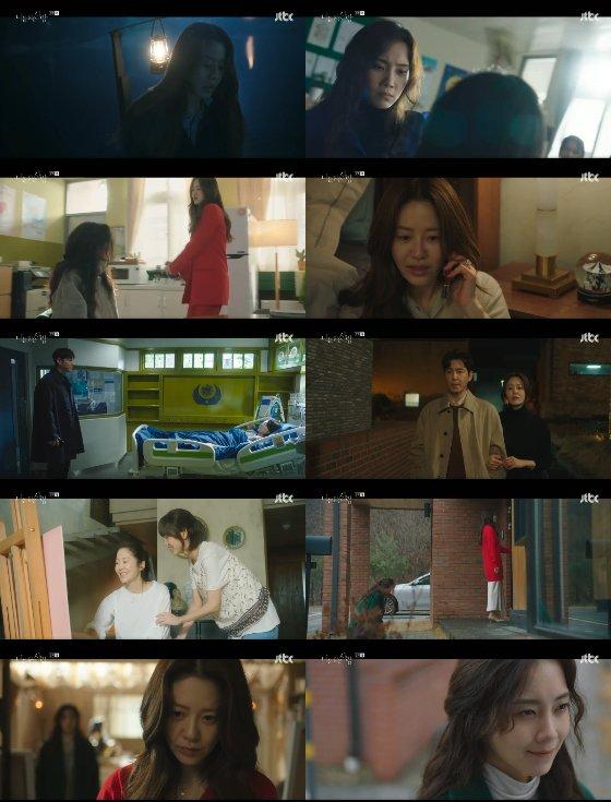 JTBC 수목드라마 '너를 닮은 사람' 1회에서 고현정, 신현빈의 불편한 재회가 이뤄졌다./사진제공=셀트리온 엔터테인먼트, JTBC스튜디오