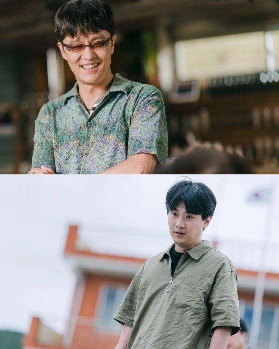 '갯마을 차차차'에 출연한 배우 조한철(위)과 이석형(아래) / 사진제공=눈컴퍼니