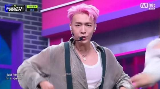 /사진= Mnet '엠카운트다운' 방송 화면