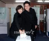 정준호-이하정 부부, '투표도 일심동체(?)'