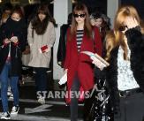소녀들의 다양한 공항패션!