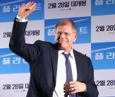 로버트 저메키스 감독, '첫 방한 기뻐요!'