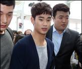 김수현, 엷은 염색에 베이비 펌 '귀엽네!'